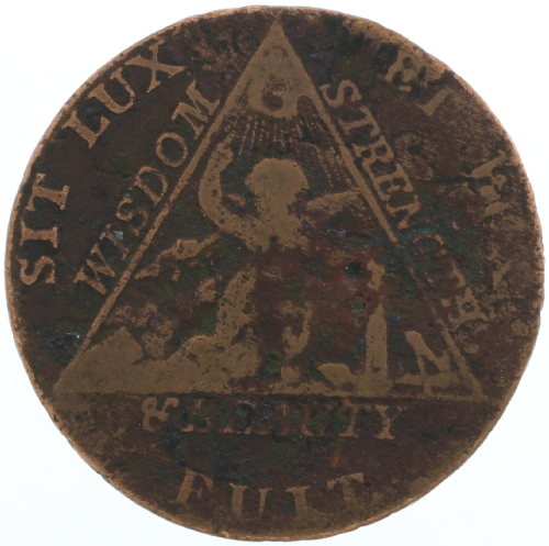 Sketchley Masonic Coin