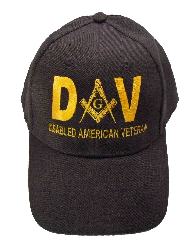 Black Disabled American Veteran Hat