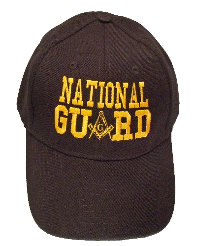 Black National Guard Hat