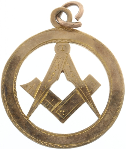 Antique 9k Gold Pendant