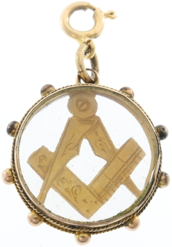 Very unique 1897 Pendant