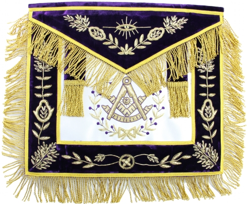 Purple Past Master Apron