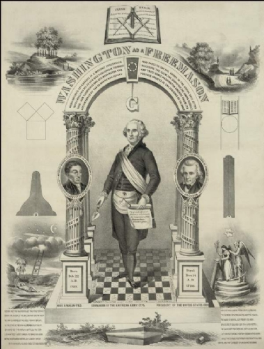 Brother George Washington Print