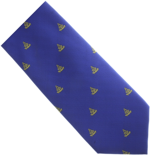Blue Past Master Tie