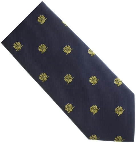 Navy Blue Scottish Rite Tie
