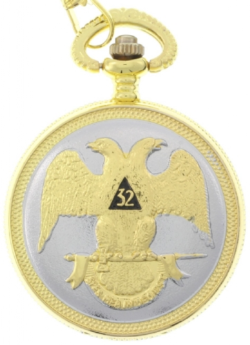 Scottish Rite Pocket Watch