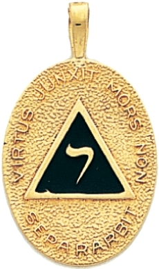 14th Degree Yod Pendant
