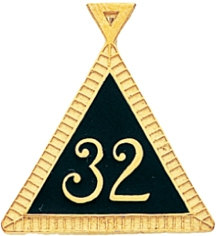 32nd Degree Pendant