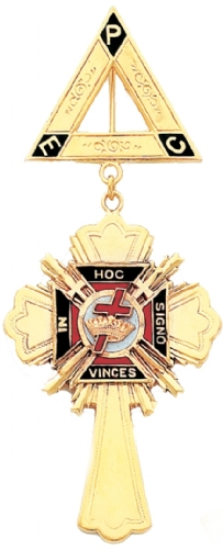 Knights Templar Jewel