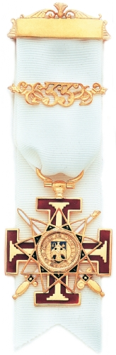 Scottish Rite 33rd Degree Jewel