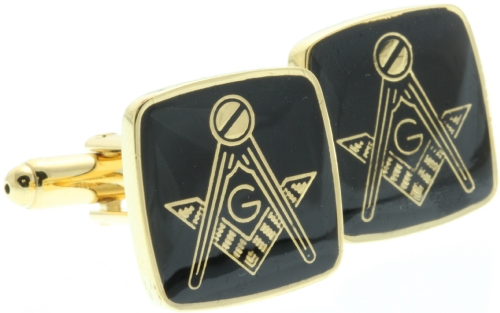 Square & Compass Cufflinks