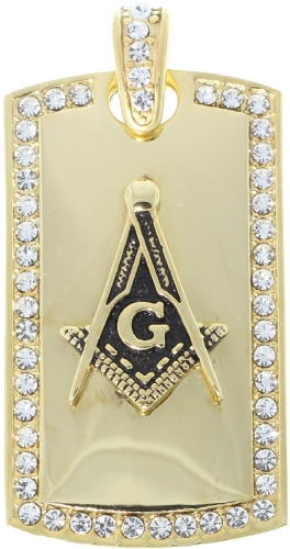 Jeweled Masonic Pendant