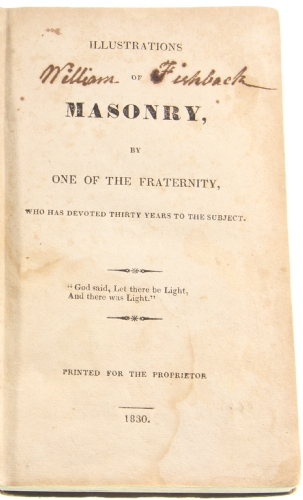 Illustrations of Masonry (Morgan)
