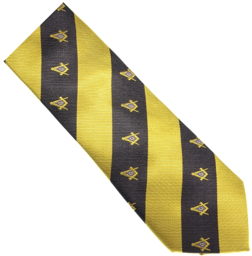 Black and Gold Necktie