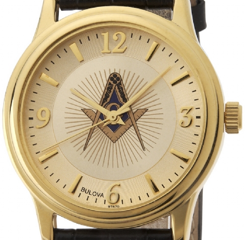 Bulova Masonic Watch