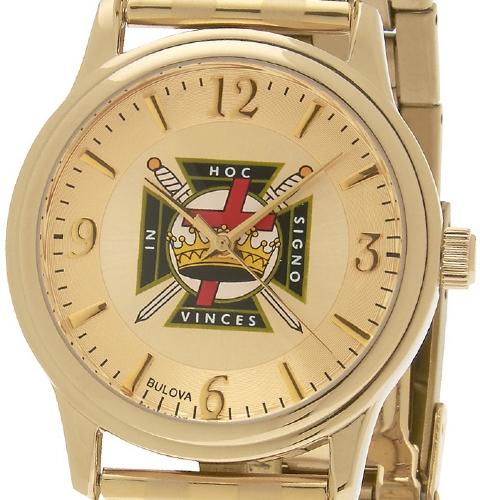 Bulova Knights Templar Watch