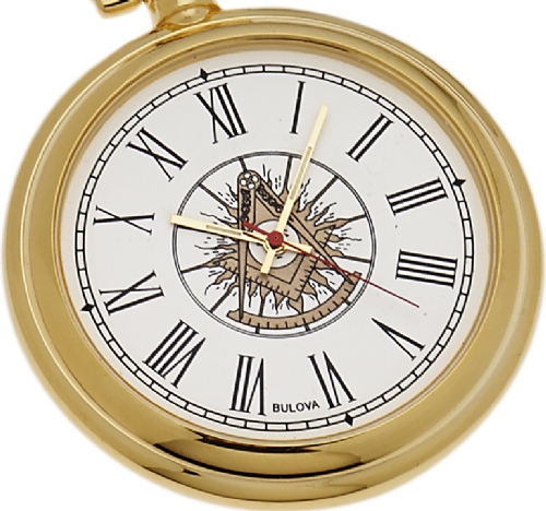 Bulova Past Master Pocket Watch