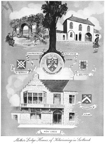 Mother Lodge Homes of Kilwinning in Scotland Print