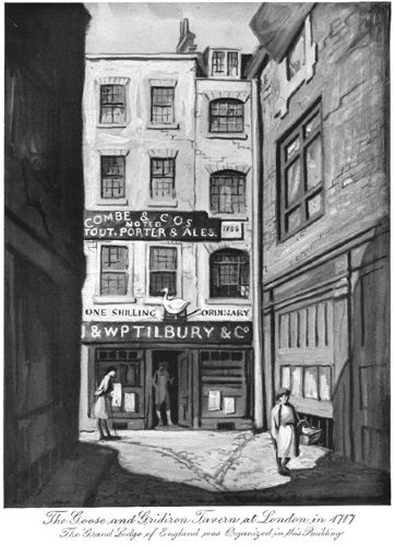 The Goose and Gridiron Tavern Print