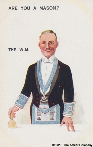 Are you a Mason? The WM Postcard