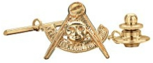 Past Master Tie Pin