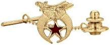 Shriners Tie Pin