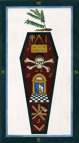 Harris 3rd Degree Tracing Board