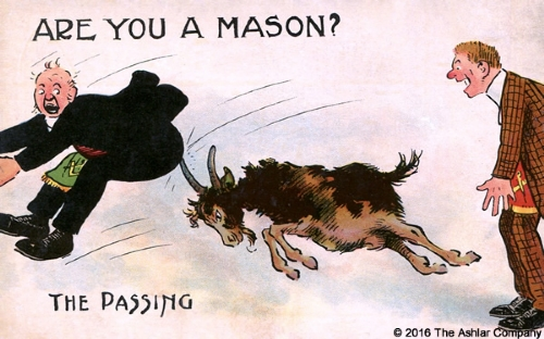 Are you a Mason? The Passing