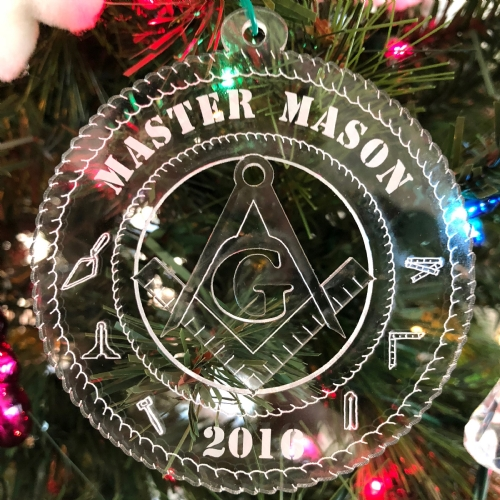 2016 Masonic Christmas Ornament