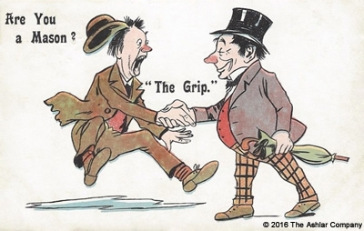 Are you a Mason? The Grip