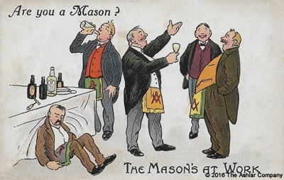Are you a Mason? The Masons at Work