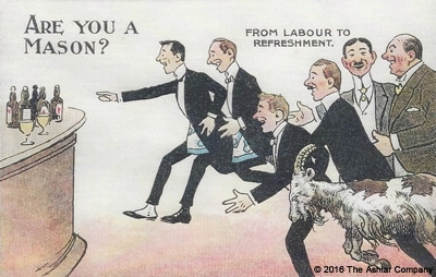 Are you a Mason? From Labour to Refreshment