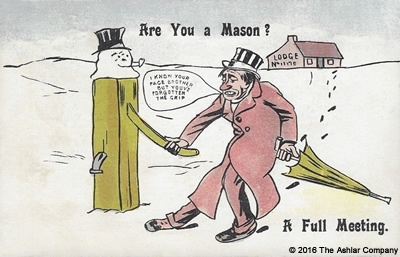 Are you a Mason? A Full Meeting