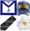 Masonic Hats, Aprons, Ties, Gloves and Apparel
