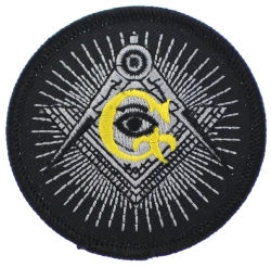 All Seeing Eye Square & Compass G Patch