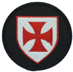 Knights Templar Shield Patch Model # 357477