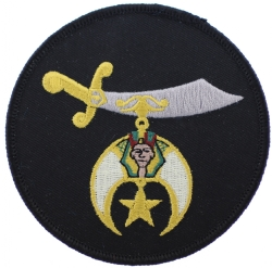 Shriners Schimitar Patch (Large)