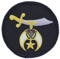 Shriners Schimitar Patch (Small)