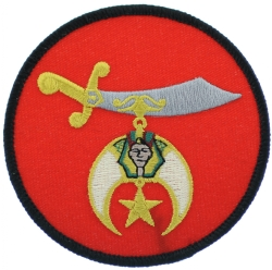 Shriners Schimitar Patch