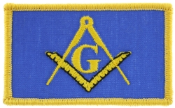Masonic Flag Patch