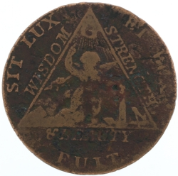 Sketchley Masonic Coin Model # 357512