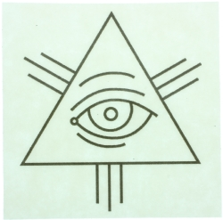 All Seeing Eye Sticker (5 Pack) Model # 357532