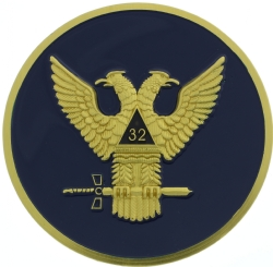 Scottish Rite Auto Emblem