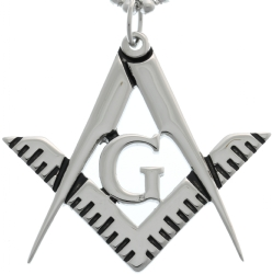 Square & Compass Pendant Model # 357546