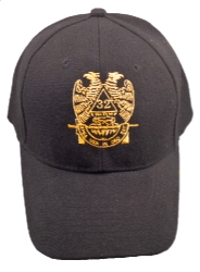 Black 32nd Degree Hat Model # 357681