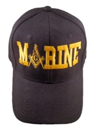 Black Marine Hat Model # 357694