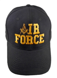 Black Air Force Hat Model # 357697