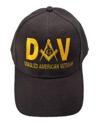 Black Disabled American Veteran Hat Model # 357712