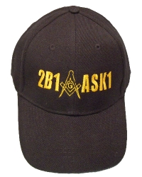 Black 2B1 ASK1 Hat Model # 357716