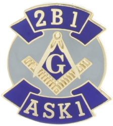 2B1 ASK1 Lapel Pin Model # 357738
